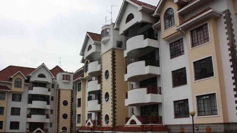 National Housing Cooperation houses in Kilimani (Twitter)