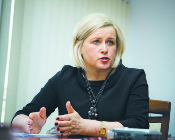 Elżbieta Seredyn, wiceminister pracy i polityki społecznej