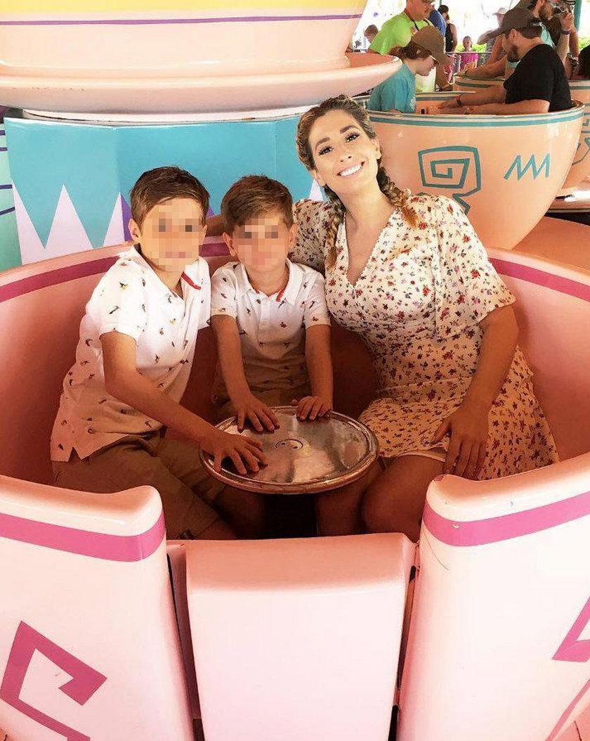 Stacey Solomon z synami