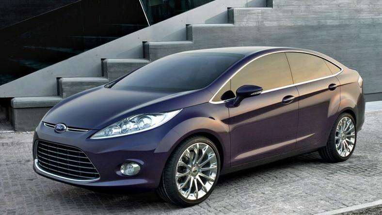 Teraz na salonie samochodowym w chińskim Guangzhou Ford ujawnił verve z czwórką drzwi i wyraźnym bagażnikiem, czyli sedana.