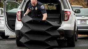 Nowatorska tarcza ochroni policjantów przed pociskami