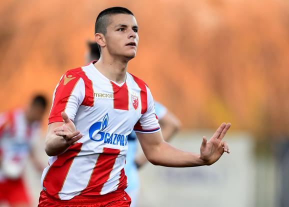 Dejan Joveljić je postigao dva pogotka protiv Rada