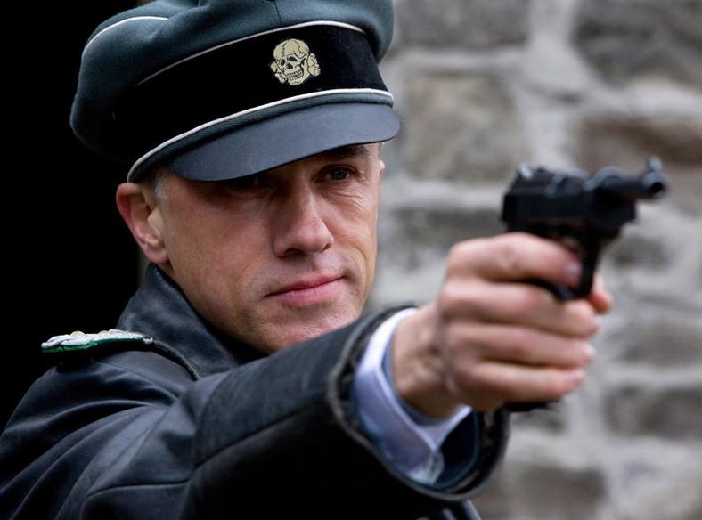 """Christoph Waltz w filmie """"Bękarty wojny"""""""