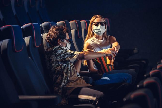 Odlazak u bioskop za vreme pandemije