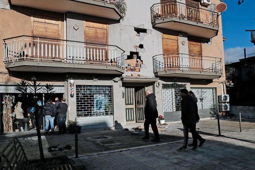 We Włoszech znów zatrzęsło. Przerażeni ludzie wybiegli na ulice