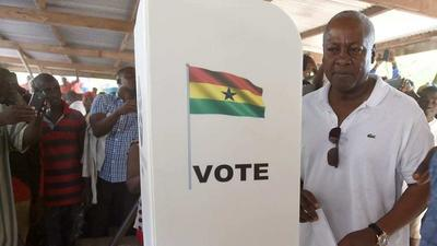 I have decided to be a polling agent in future elections - Mahama