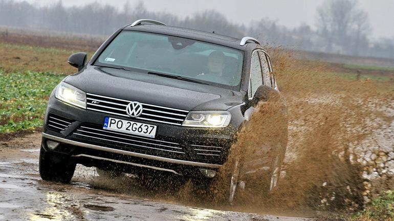 Volkswagen Touareg 3.0 TDI - Pogromca błota i śniegu