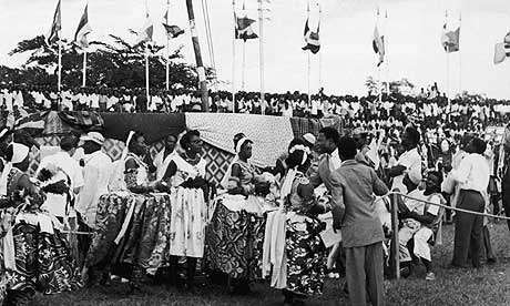 As expected there were lots of celebrations around the country especially in the then capital, Lagos (CrEDit - Nigerian Archives)
