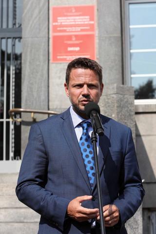 Trzaskowski: Opracowujemy działania, które zmniejszą szkodliwość ścieków