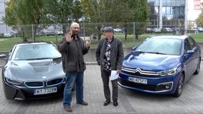 Auta bez ściemy - BMW i8 i Citroen C-Elysee, czyli dwa sposoby na oszczędne auto