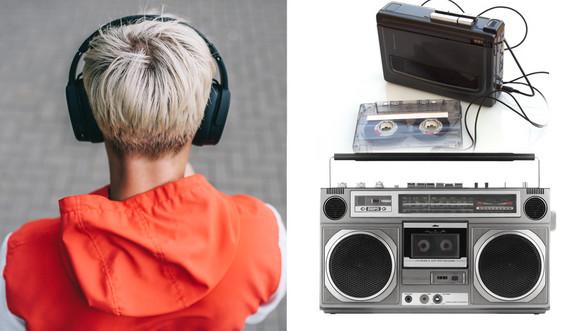 Nekada tranzistor ili vokmen, danas čitava plejlista na telefonu