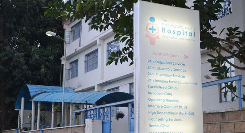 Nairobi Women's Hospital medical account suspended