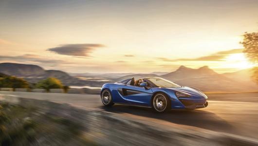 McLaren 570S Spider – cabrio o parametrach coupe
