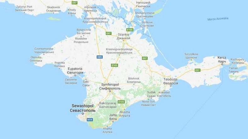 Google Maps Pokazuje Krym Na Trzy Rozne Sposoby Dlaczego