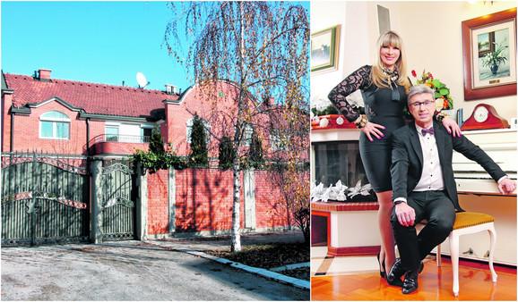 Kuća Saše Popovića po izgledu je slična kao i Brenina