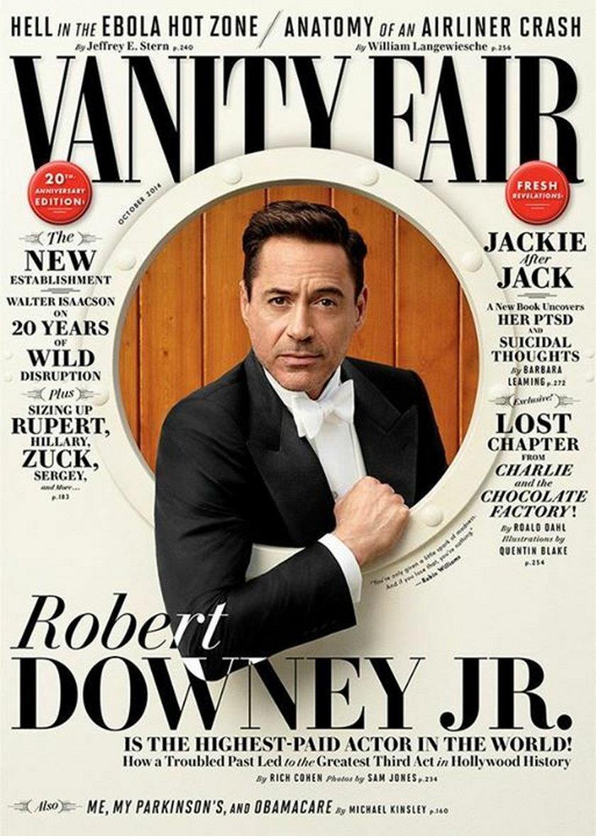 Katy Perry i Robert Downey Jr na październikowych okładkach magazynów