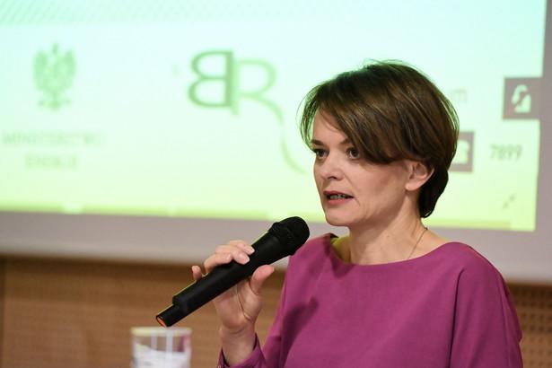"""Emilewicz podkreśliła, że Polska chce mieć wpływ na kształtowanie UE. """"Dzisiaj ta Wspólnota będzie ulegać istotnym zmianom. I mówią to wszyscy czołowi politycy państw członkowskich"""" - mówiła minister."""