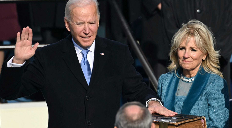 'Democracy has prevailed,' Biden preaches unity in inaugural speech as 46th US President