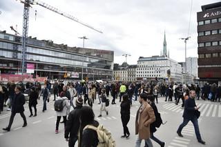 Szwecja: Kierowca ciężarówki wciąż poszukiwany