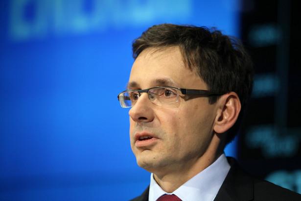 Minister skarbu Mikołaj Budzanowski.