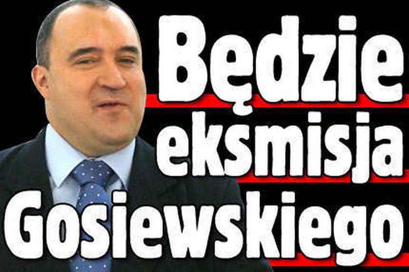 Będzie eksmisja Gosiewskiego