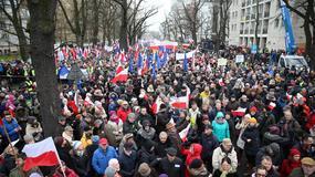 Bogdan Zdrojewski podczas wrocławskiej manifestacji: mamy marionetkę na Krakowskim Przedmieściu i kukiełkę na Alejach Ujazdowskich