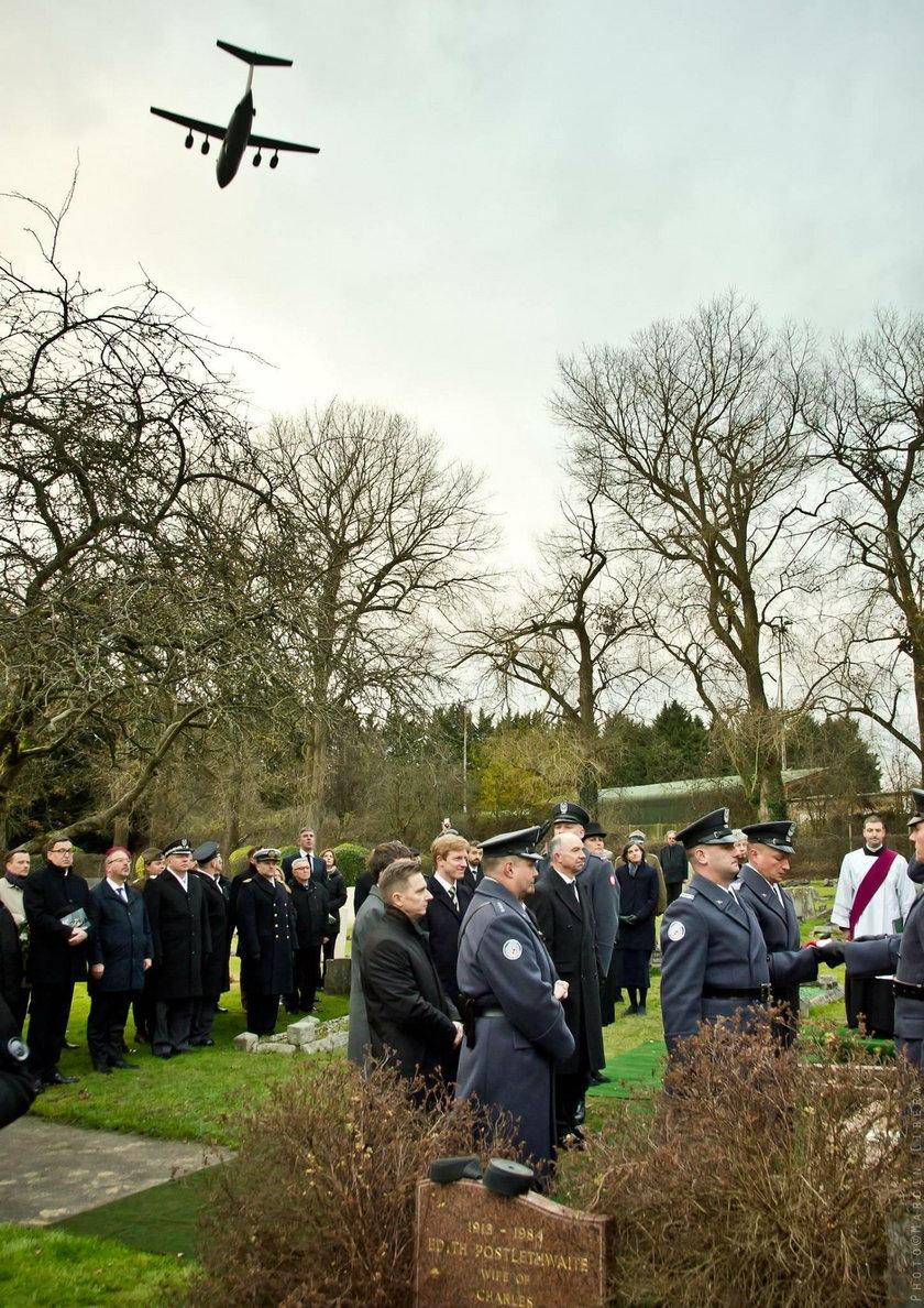 Pogrzeb płk. Franciszka Kornickiego