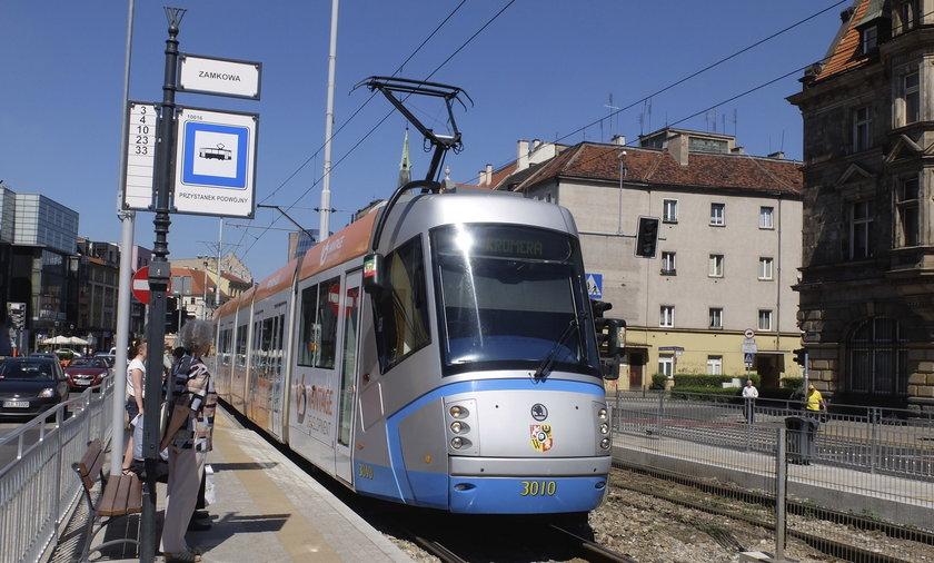 przystanek tramwaj wrocław