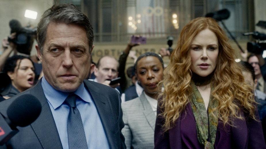 "Nicole Kidman i Hugh Grant w serialu ""Od nowa"" (2020)"
