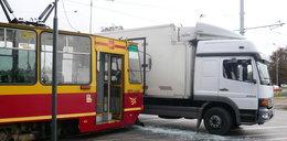 Zderzenie tramwaju na Limanowskiego