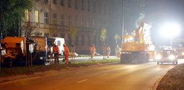 W Łodzi są budowy, na których pracuje się w nocy