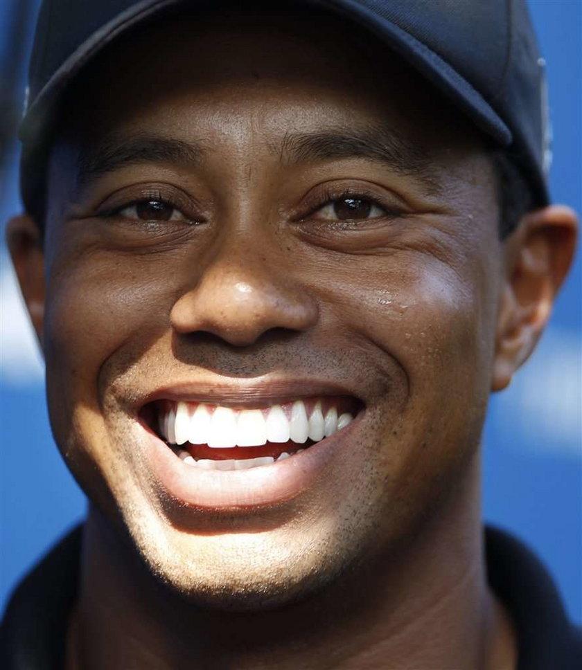 Tiger Woods pokochał starszą panią