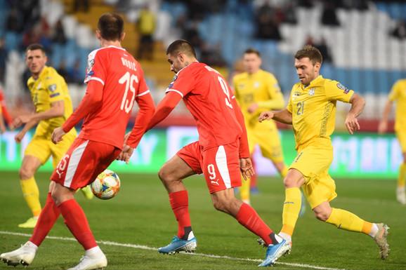 Fudbalska reprezentacija Srbije, fudbalska reprezentacija Ukrajine