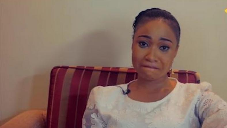 Tonto Dikeh during the tell-all interview