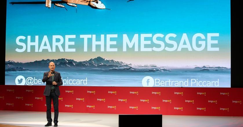 Zdaniem Bertranda Piccarda ludzi trzeba przekonać, że czyste technologie i ochrona środowiska są rentowne