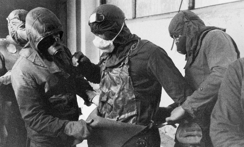 Akcja ratunkowa w Czarnobylu