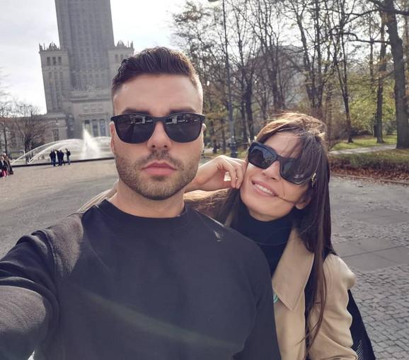 Ivana Španović i Marko Vuleta