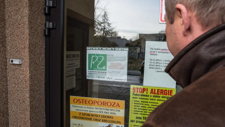 UOKiK zajął się zamkniętymi gabinetami lekarskimi