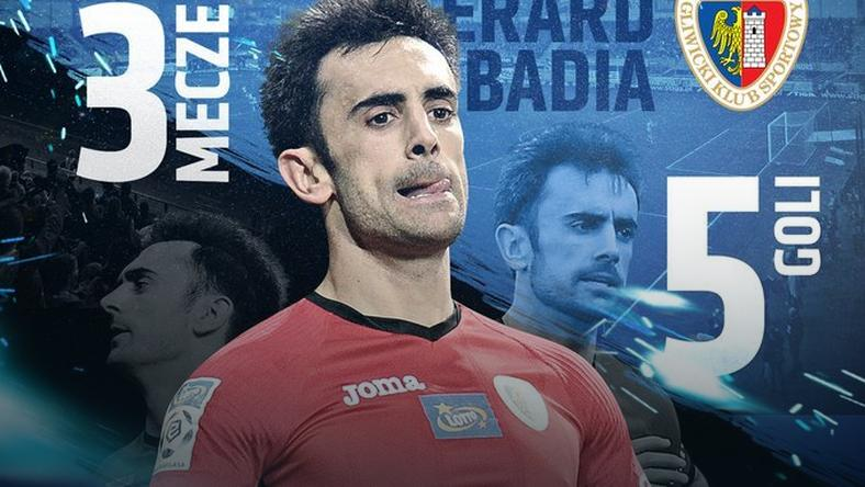 Gerard Badia piłkarzem marca w LOTTO Ekstraklasie