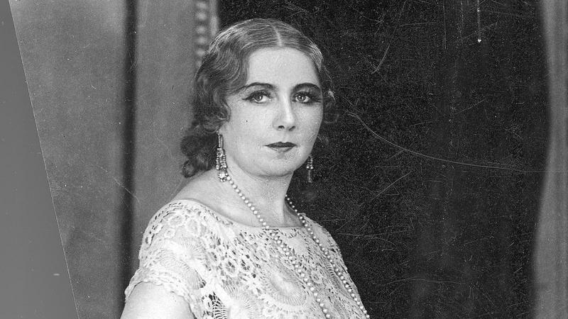 Mieczysława Ćwiklińska w 1928 r.