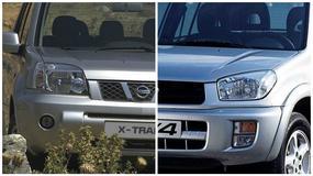 Porównanie: Toyota RAV4 II vs. Nissan X-Trail I - pojedynek japońskich tytanów!