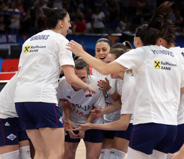 Košarkaška reprezentacija Srbije, Španije, Košarkašice Srbije