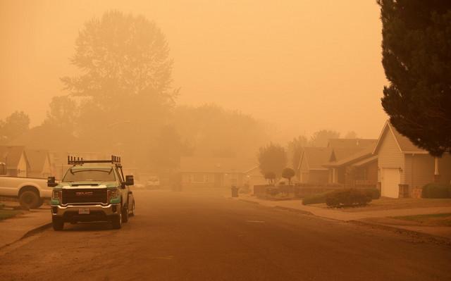 Požari u Oregonu - Molala