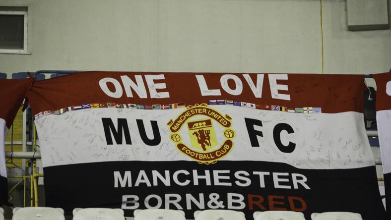 Flaga kibiców Manchesteru United