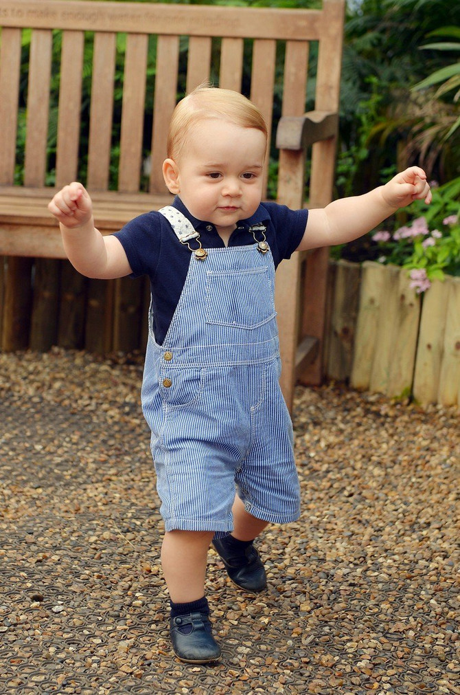 Princ Džordž pre nekoliko godina