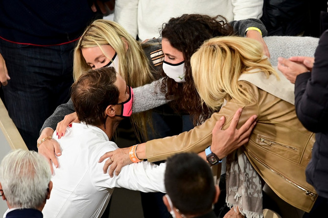 Supruga, majka i sestra čestitaju Nadalu na pobedi na Rolan Garosu