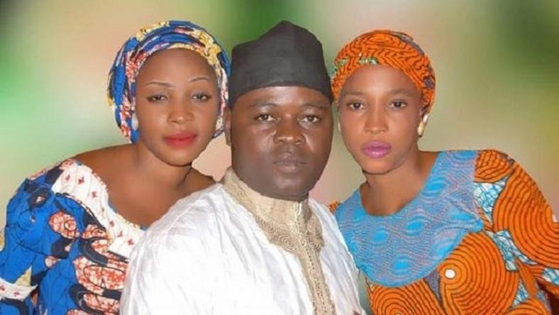 Isiaka Dahiru and his two brides