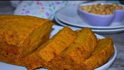 DIY Recipes: How to make Ofam (Spicy Plantain Cake)