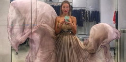 Przepiękna suknia Ewy Chodakowskiej!