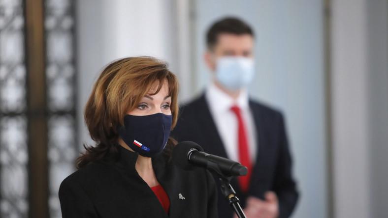 Gabriela Morawska-Stanecka i Krzysztof Śmiszek